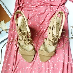 [Sam Edelman] NEW Yardley Lace Up Heels Size 10